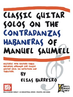 Classic Guitar Solos On The Contradanzas Habaneras Books | Guitar, Guitar Tab