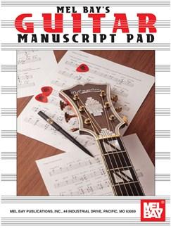 Guitar Manuscript Pad Books | Guitar