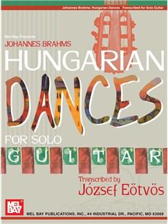 Johannes Brahms Hungarian Dances for Solo Guitar Books | Guitar