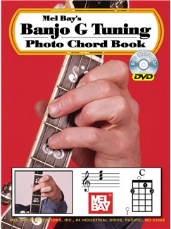 Mel Bay's Banjo G Tuning Photo Chord Book (Book/DVD) Books and DVDs / Videos | Banjo