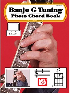 William Bay: Banjo G Tuning - Photo Chord Book (Book/Online Video) Books and Digital Audio | Banjo