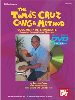 The Tomas Cruz Conga Method Volume 2 - Intermediate Books and DVDs / Videos | Congas