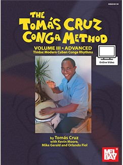 Tomas Cruz Conga Method: Volume 3 - Advanced (Book/Online Audio) Books | Percussion