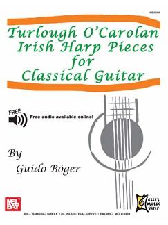 Turlough O'Carolan Irish Harp Pieces For Classical Guitar Books | Guitar