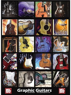 Graphic Guitars Poster  | Guitar