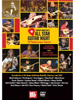 Muriel Anderson: All Star Guitar Night DVDs / Videos | Guitar