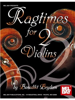 Ragtimes for Two Violins Books | Violin