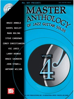 Master Anthology of Jazz Guitar Solos, Volume 4 Books and CDs | Guitar