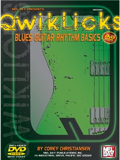 QwikLicks: Blues Guitar Rhythm Basics Books and DVDs / Videos | Guitar