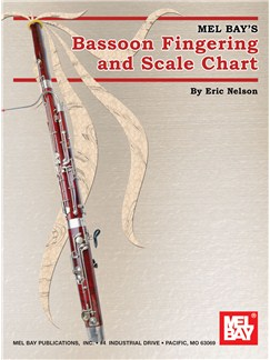 Eric Nelson: Bassoon Fingering And Scale Chart Books | Bassoon