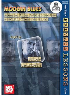 Bruce Saunders: Modern Blues (Book/Online Audio) Books and Digital Audio   Guitar