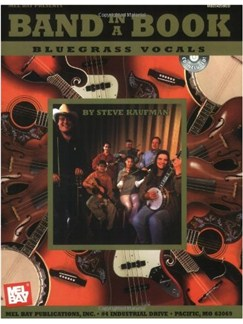 Band in a Book: Bluegrass Vocals Books and CDs | Voice