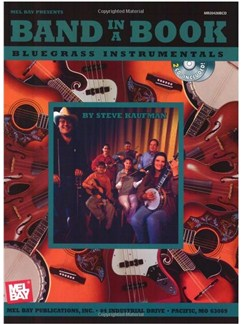 Band in a Book: Bluegrass Instrumentals Books and CDs | Ensemble