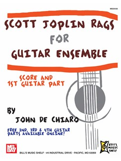 Scott Joplin - Rags for Guitar Ensemble Books | Guitar