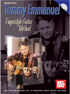Tommy Emmanuel: Fingerstyle Guitar Method Books and CDs | Guitar, Guitar Tab