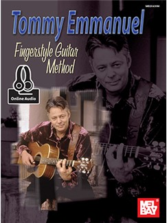 Tommy Emmanuel Fingerstyle Guitar Method (Book/Online Audio) Books and Digital Audio | Guitar