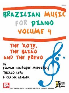 Brazilian Music for Piano, Volume 4 Books | Piano