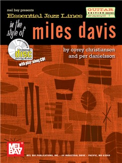 Essential Jazz Lines: In The Style Of Miles Davis Books and CDs | Guitar Tab