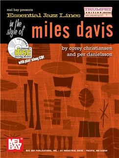 Essential Jazz Lines: Miles Davis - Trumpet Edition Books and CDs | B Flat Instruments