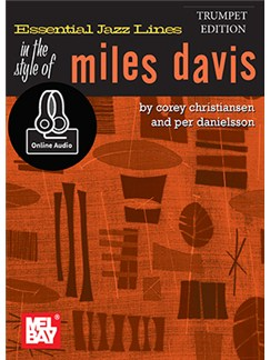 Essential Jazz Lines: Miles Davis - Trumpet Edition (Book/Online Audio) Books and Digital Audio | Trumpet