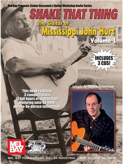 Shake That Thing - The Guitar Of Mississippi John Volume One Books and CDs | Guitar