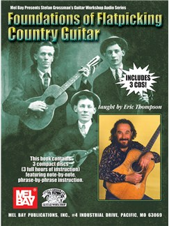 Foundations Of Flatpicking Country Guitar Books and CDs | Guitar