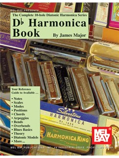 Complete 10-Hole Diatonic Harmonica Series: D Flat Harmonica Book Books | Harmonica