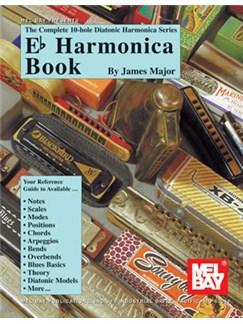 Complete 10-Hole Diatonic Harmonica Series: E Flat Harmonica Book Books   Harmonica