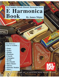 Complete 10-Hole Diatonic Harmonica Series: E Harmonica Book Books | Harmonica