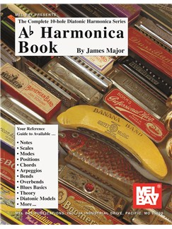 Complete 10-Hole Diatonic Harmonica Series: Ab Books   Harmonica
