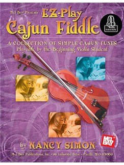 EZ-Play Cajun Fiddle (Book/CD) Books and CDs | Violin