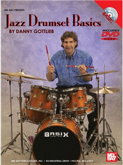 Jazz Drumset Basics Books and DVDs / Videos | Drums
