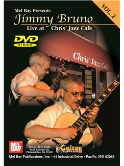 Jimmy Bruno Live At Chris' Jazz Café: Volume 2 DVDs / Videos | Guitar