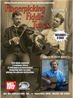 Fingerpicking Fiddle Tunes: Volume 1 Books and CDs | Guitar