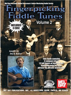 Fingerpicking Fiddle Tunes: Volume 2 Books and CDs | Guitar