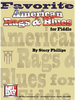 Favorite American Rags & Blues For Fiddle Books | Violin