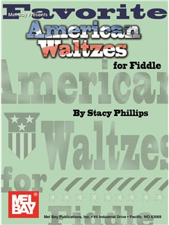 Favorite American Waltzes For Fiddle Books | Violin
