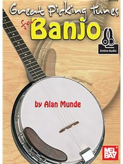 Alan Munde: Great Picking Tunes For Banjo (Book/Online Audio) Books | Banjo