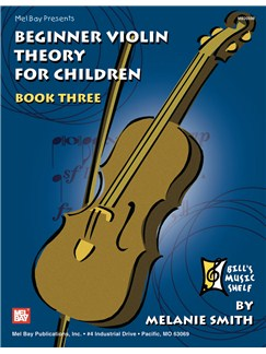 Beginner Violin Theory for Children, Book Three Books | Violin