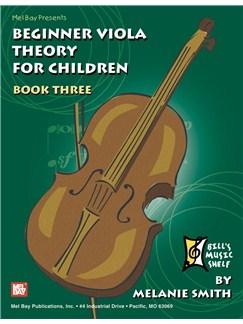 Beginner Viola Theory for Children, Book 3 Books | Viola