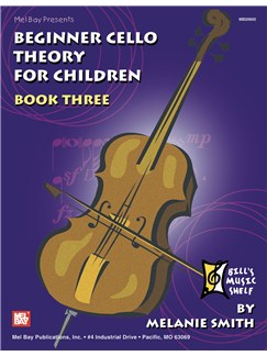 Beginner Cello Theory for Children, Book Three Books | Cello