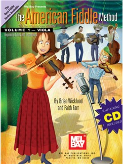 The American Fiddle Method for Viola, Volume 1 Books and CDs | Viola