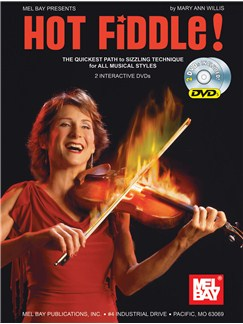 Mary Ann Willis: Hot Fiddle! Books and DVDs / Videos | Violin
