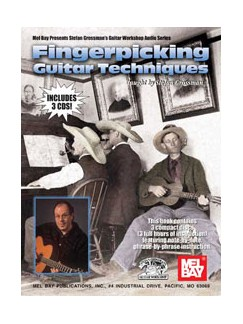 Stefan Grossman: Fingerpicking Guitar Techniques Books | Guitar