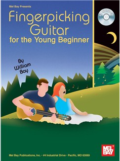 William Bay: Fingerpicking Guitar for the Young Beginner Books and CDs | Guitar