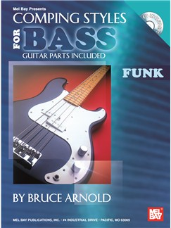 Bruce Arnold: Comping Styles For Bass Books and CDs | Bass Guitar