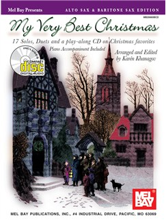 My Very Best Christmas, Alto Sax and Baritone Sax Edition Books and CDs | Saxophone