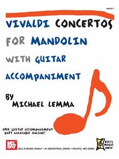 Vivaldi Concertos for Mandolin Books | Mandolin