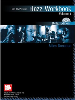 Jazz Workbook, Volume 1 B-Flat Edition Books and CDs | B Flat Instruments