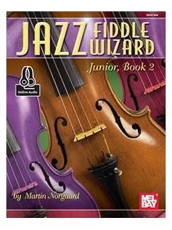 Jazz Fiddle Wizard Junior, Book 2 Books | Violin